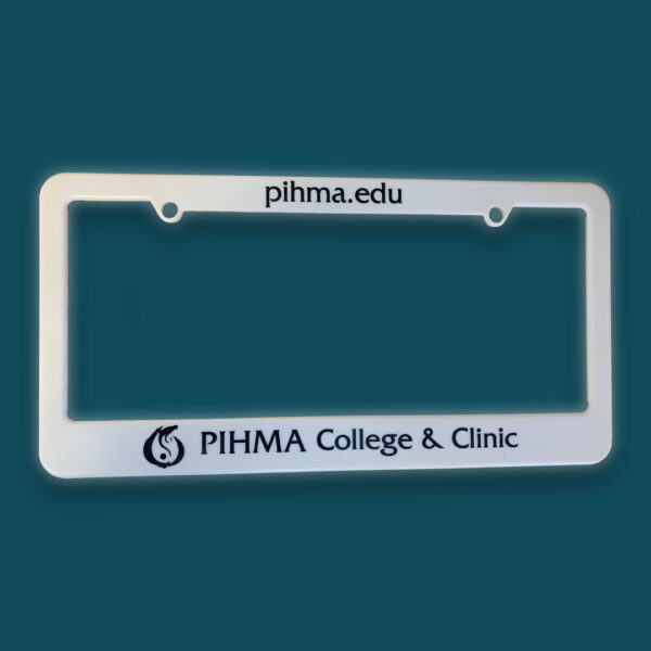 PIHMA License Plate